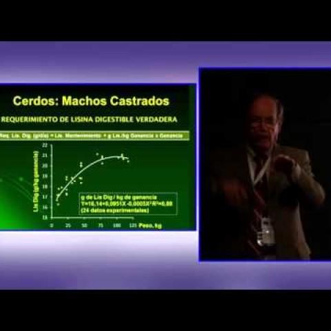 SINA Biofarma, PhD. Horacio Rostagno: Nutrición de aminoácidos para cerdos en crecimiento