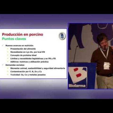 SINA, Biofarma. PhD. Gonzalo Gonzalez Mateos: Complejo soja en la nutrición y alimentación porcina